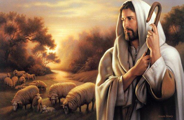 jezus is de goede herder