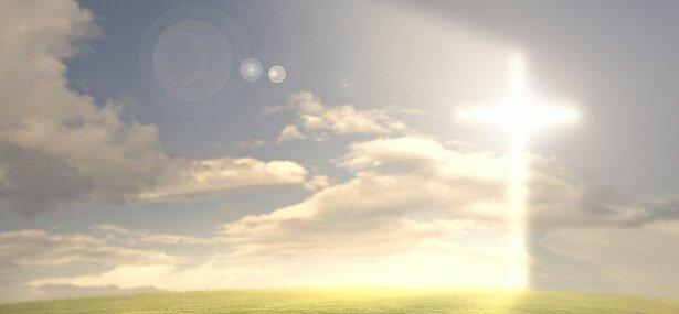 de verlossing kruis hemel