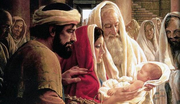geboorte jezus christus tempel