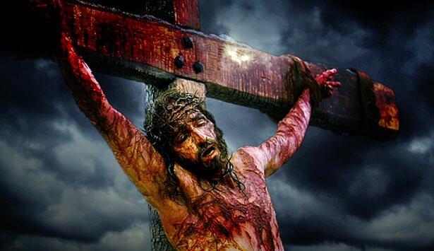jezus christus kruisiging